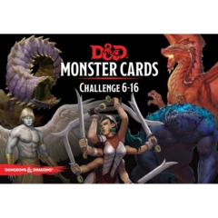 Dungeons and Dragons: Monster Challenge 6-16 Cards 125-card deck