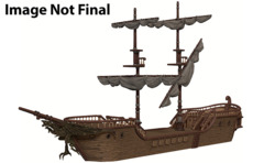D&D Icons of the Realms Miniatures: PRESALE The Falling Star colossal sailing ship