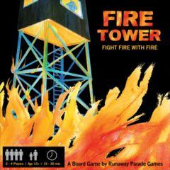 Fire Tower: kickstarter edition board game