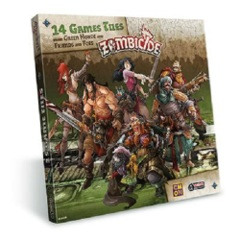 Zombicide: Green Horde Extra Tiles expansion coolminiornot