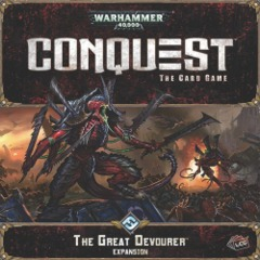 Warhammer 40K Conquest LCG: The Great Devourer expansion ffg