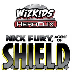 Heroclix: Nick Fury, Agent of SHIELD booster pack