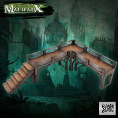 Malifaux: PRESALE Downtown Walkway Set terrain wyrd