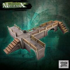 Malifaux: PRESALE Sewers Walkway Set terrain wyrd