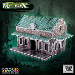 Malifaux: PRESALE Train Station terrain wyrd