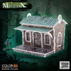 Malifaux: PRESALE Train Halt terrain wyrd