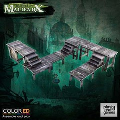 Malifaux: PRESALE Swamp Walkway Set terrain wyrd