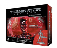 Terminator Genisys: Endoskeletons miniatures warlord games