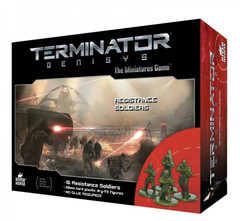 Terminator Genisys: Resistance Soldiers miniatures warlord games