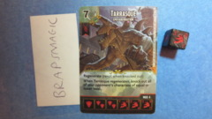 Dungeons & Dragons Dice Masters: Tarrasque, Epic (super rare)