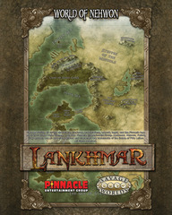 Savage Worlds RPG: Lankhmar: Poster Map studio 2