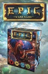 Epic: base/core deck building game white wizard