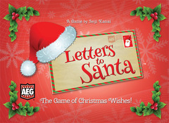 Love Letter: Letters to Santa Clamshell Edition board game aeg