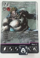 DC Dice Masters: Black Lantern Aquaman, From the Depths #143 (full art chase rare)