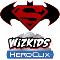 DC HeroClix: World's Finest 10-ct Booster Brick wizkids