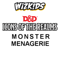 Dungeons and Dragons: Icons of the Realms Set 4 Monster Menagerie 8-ct Brick wizkids