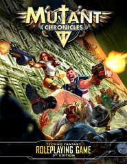 Mutant Chronicles RPG: Core Rules Hardcover rulebook modiphius