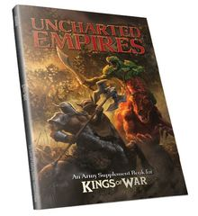 Kings of War: Uncharted Empires, 2nd Edition, Hardcover mantic