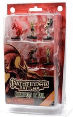 Pathfinder Battles Miniatures: Champions of Evil Encounter Pack