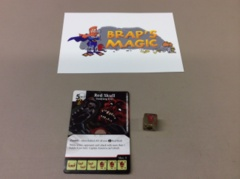 Marvel Dice Masters: Red Skull, Undying Evil zombie #140 (super rare)