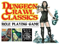 Dungeon Crawl Classics RPG: Real Leather Edition core book modiphius