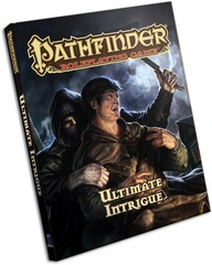 Pathfinder: Ultimate Intrigue Hardcover supplement paizo