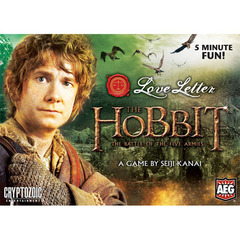 Love Letter: The Hobbit Boxed Edition board game aeg