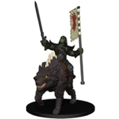 Orc Rider on Dire Wolf