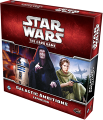 Star Wars LCG: Galactic Ambitions deluxe expansion FFG