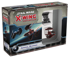 Star Wars X-Wing Miniatures Game: Imperial Veterans Expansion Pack fantasy flight
