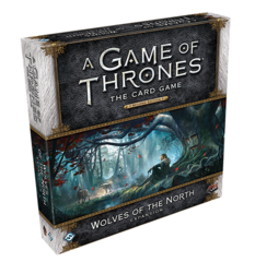 A Game of Thrones LCG: 2nd Edition Wolves of the North deluxe expansion ffg