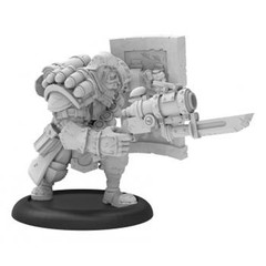 Warmachine: PRESALE Cygnar Trench Buster Solo (resin/metal) Privateer