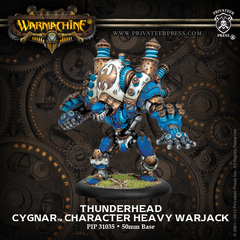 Warmachine: PRESALE Cygnar Thunderhead Character Heavy Warjack (resin/metal resculpt) Privateer