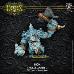 Hordes: PRESALE Trollblood Rok Character Heavy Warbeast (resin/metal resculpt) Privateer