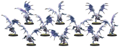 Hordes: PRESALE Legion of Everblight Grotesque Raiders/Grotesque Banshees Blighted Nyss Unit (10) (plastic) Privateer