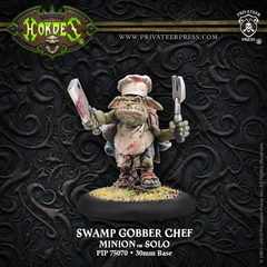 Hordes: PRESALE Minions Swamp Gobber Chef Solo (metal) Privateer