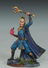 Visions in Fantasy: Elven Warlock Dark Sword Miniatures