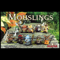 Reaper Miniatures: Mouslings Heroes Box Set (10 Mouse Guard Figures) 10033