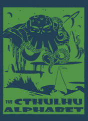 Cthulhu Alphabet: PRESALE Leather Cover edition goodman games