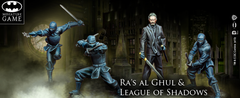 Batman Miniature Game: Ra's al Ghul & League of Shadows ( Dark Knight Trilogy ) Knight Models