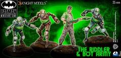 Batman Miniature Game: The Riddler and Bot Army Starter ( Arkham ) Knight Models