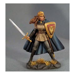Visions in Fantasy: Female Fighter w/ Long Sword 4115 Dark Sword Miniatures