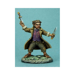 Visions in Fantasy: Halfling Rogue w/ Daggers 7309 Dark Sword