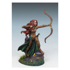 Visions in Fantasy: Female Elven Ranger w/ Bow 7450 Dark Sword