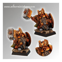 Fantasy Miniatures: Dwarf Ducal Guard # 2 Scibor Monstrous Miniatures