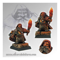 Fantasy Miniatures: Dwarf Sapper Scibor Monstrous Miniatures