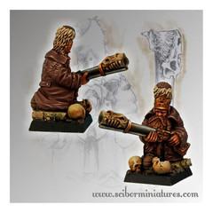 Moscals Army: Strielec Kneeling 2 Dwarf Scibor Monstrous Miniatures