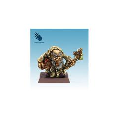 Fantasy Miniatures: Gnome w/ Book Spellcrow