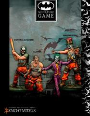 Batman Miniature Game: Joker's Crew Knight Models