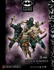 Batman Miniature Game: Victor Zsasz / Arkham Lunatics Starter Knight Models